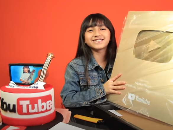 Malaysia's youngest Top 10 YouTuber, Alyssa, aims for Guinness World record