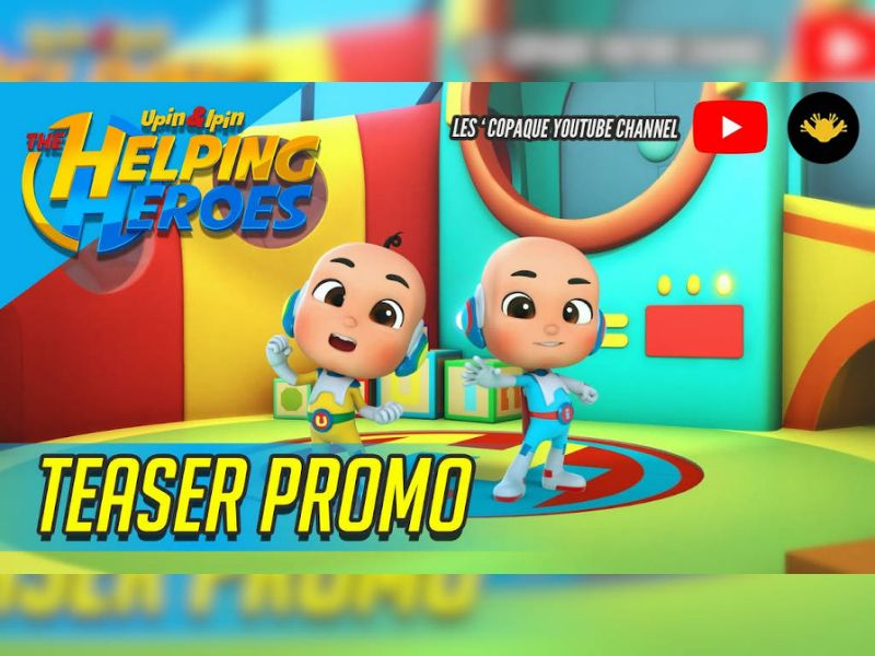 """Les' Copaque releases new series, """"Upin & Ipin: The Helping Heroes"""""""