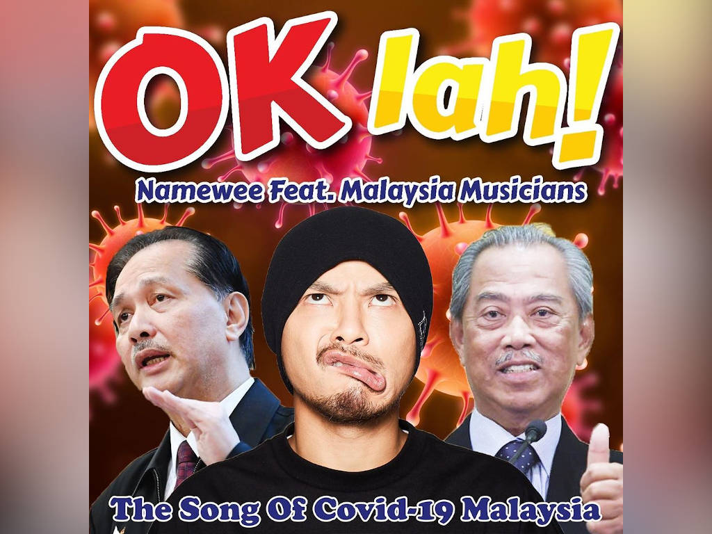 Namewee's new song is all about COVID-19 and MCO
