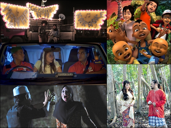 Movies to enjoy at home this Raya