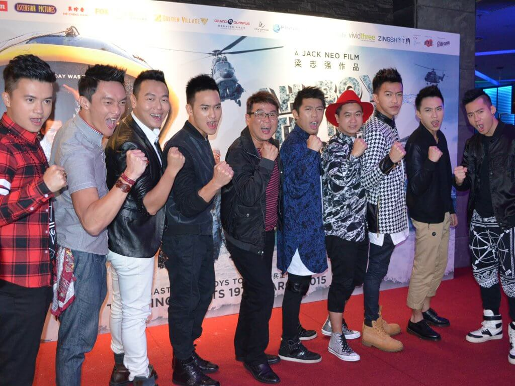 """Jack Neo and his """"Ah Boys"""" stars part of """"LIVE IT UP Charity Concert"""" lineup"""