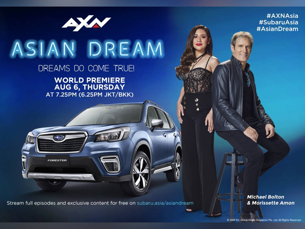 """Michael Bolton searches for new star in first season of """"Asian Dream"""""""