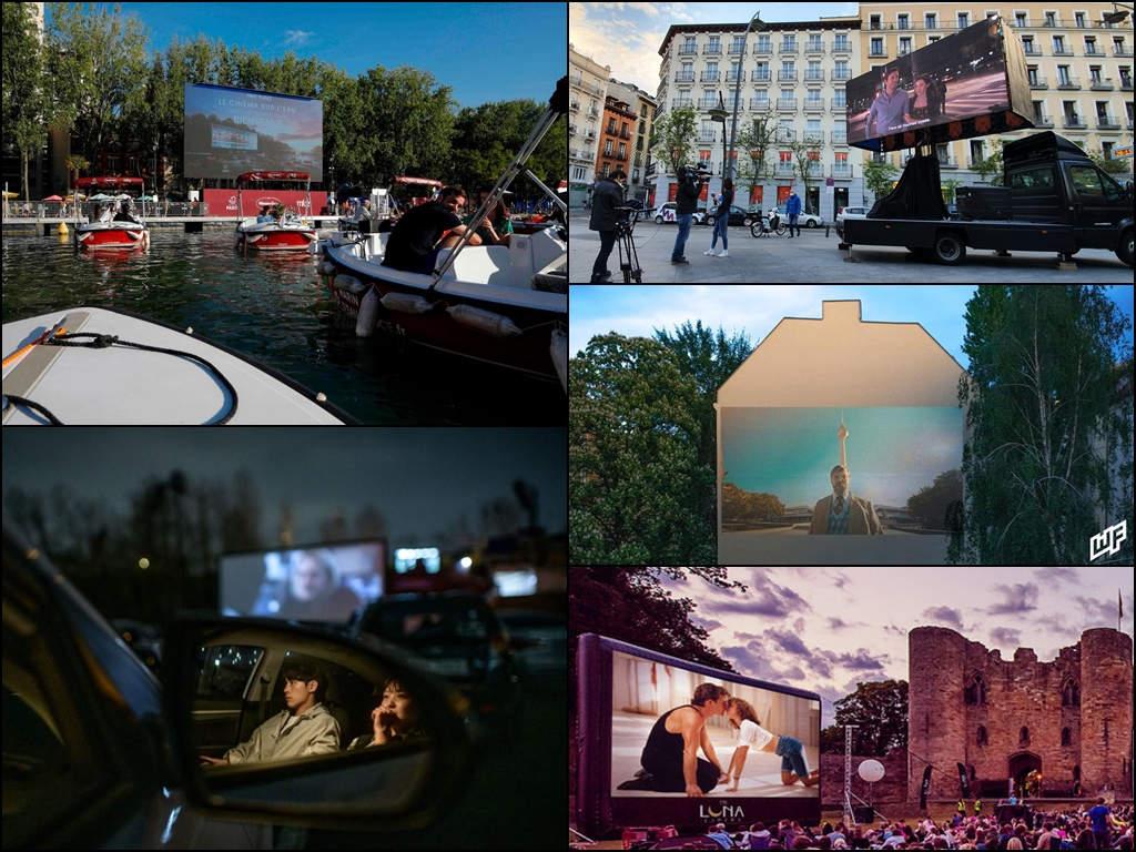 Interesting alternatives to conventional cinemas across the globe