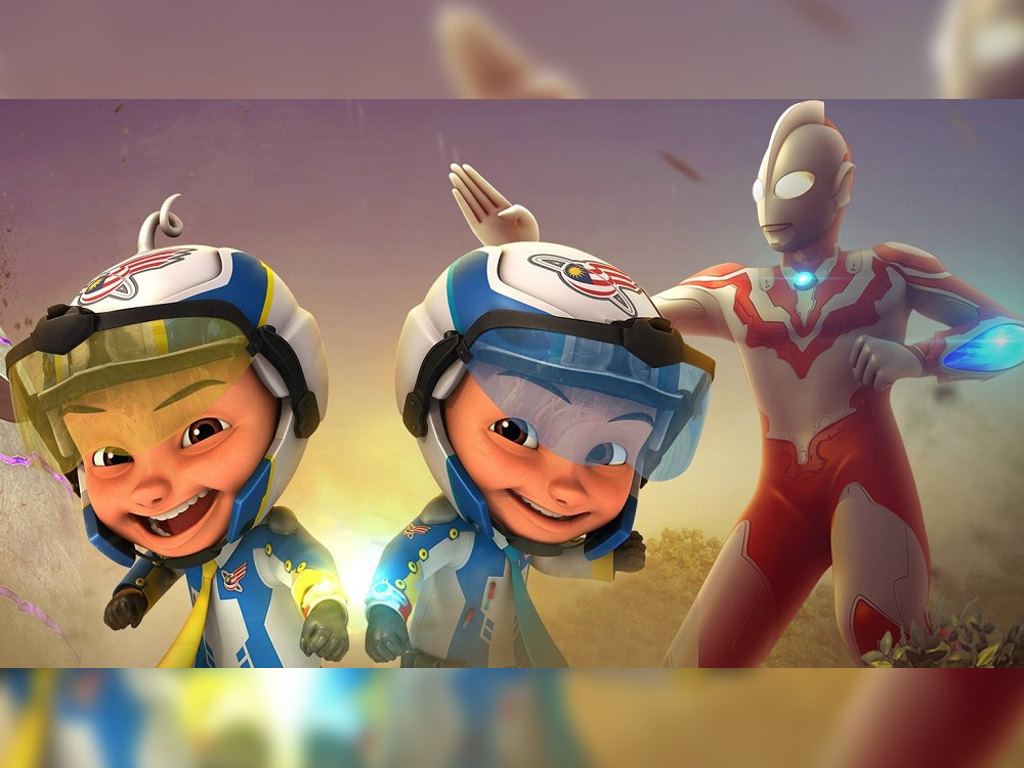 """Les' Copaque reveals drama behind Ultraman Ribut's appearance in """"Upin Ipin"""""""