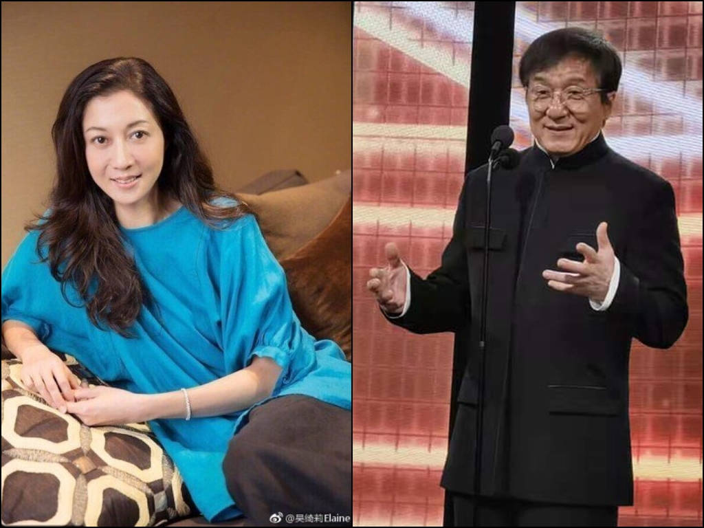 Elaine Ng paid millions to keep mum about Jackie Chan affair?