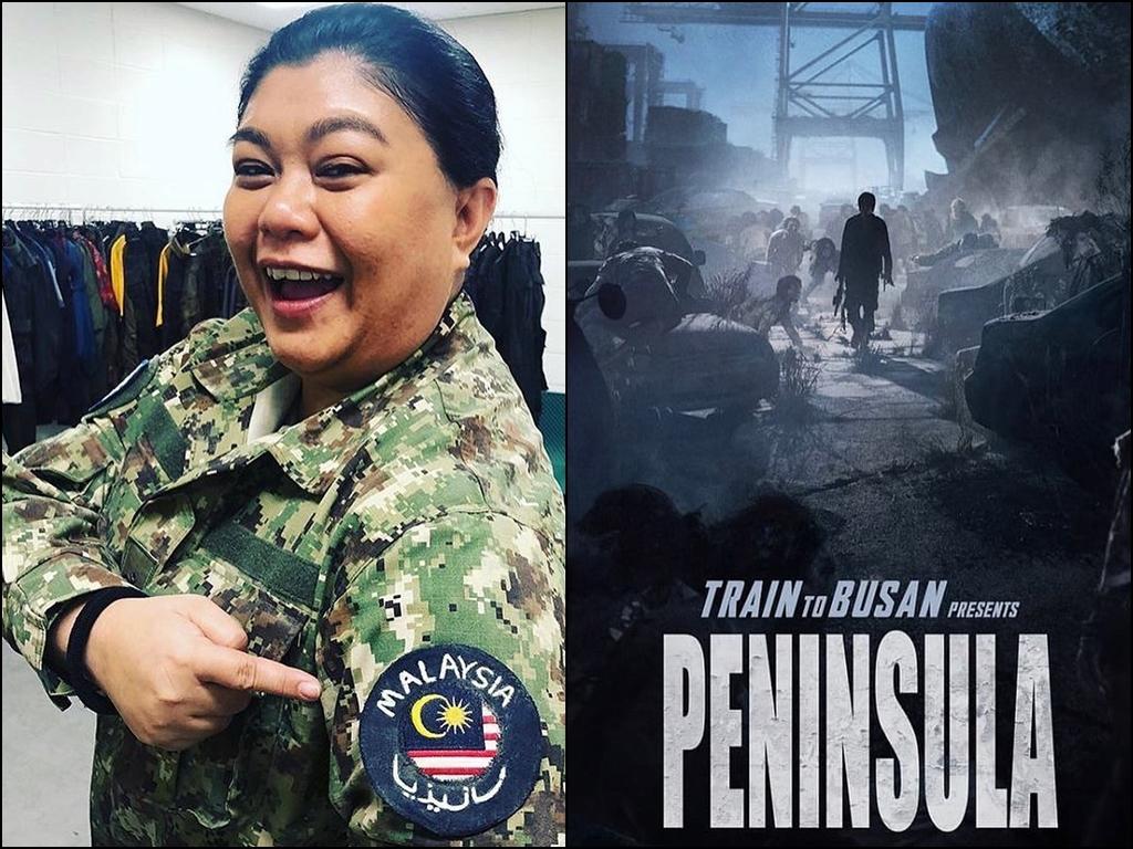 "Bella Rahim shares experience filming ""Peninsula"""