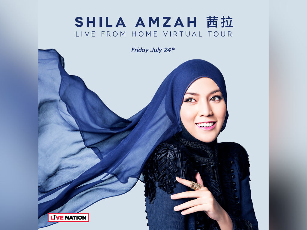 Shila Amzah to perform on Live Nation's new Live From Home platform