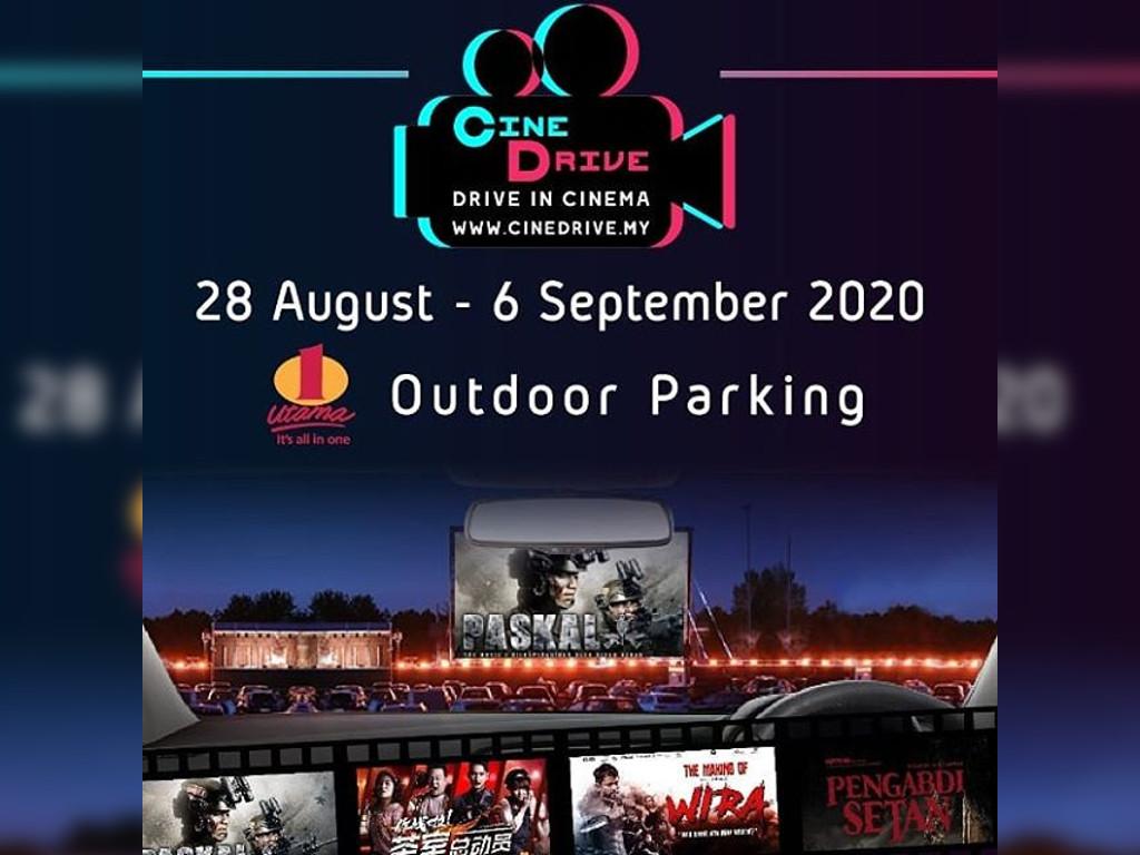Biggest drive-in cinema, CineDrive, to kick off this Merdeka weekend!
