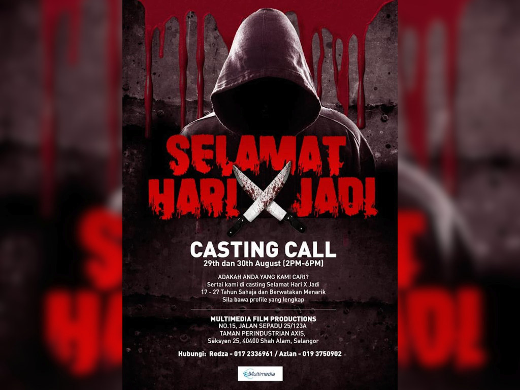"""""""Selamat Hari X Jadi"""" to hold audition this weekend"""