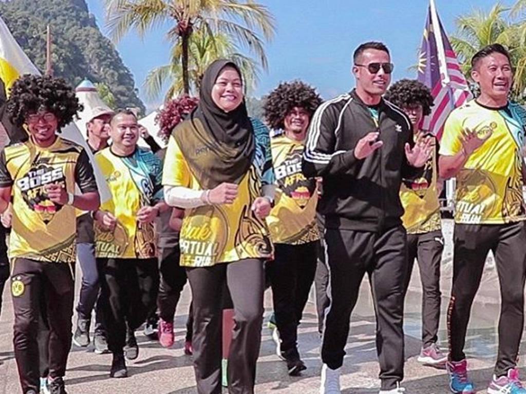 Zul Ariffin calls for Malaysians to join Perak Virtual Run 2020