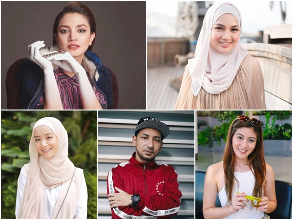 Top 10 popular Malaysian film stars on Instagram