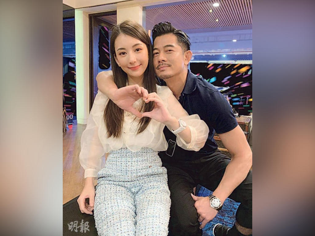 Aaron Kwok shows support for wife amid 'training camp' scandal