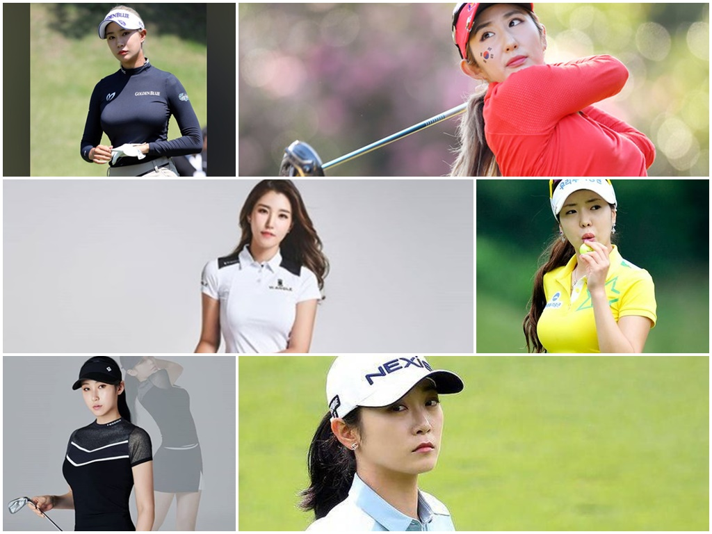 10 hottest South Korean female golfers!
