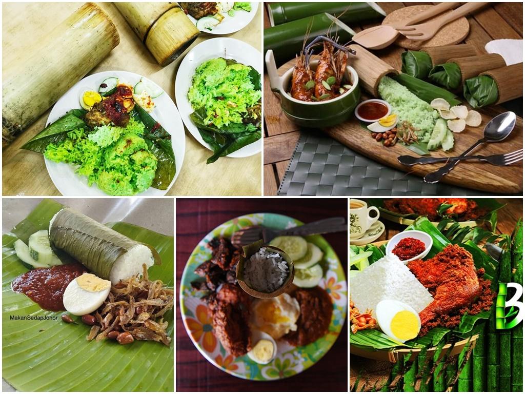 5 must-try Nasi Lemak bamboo!