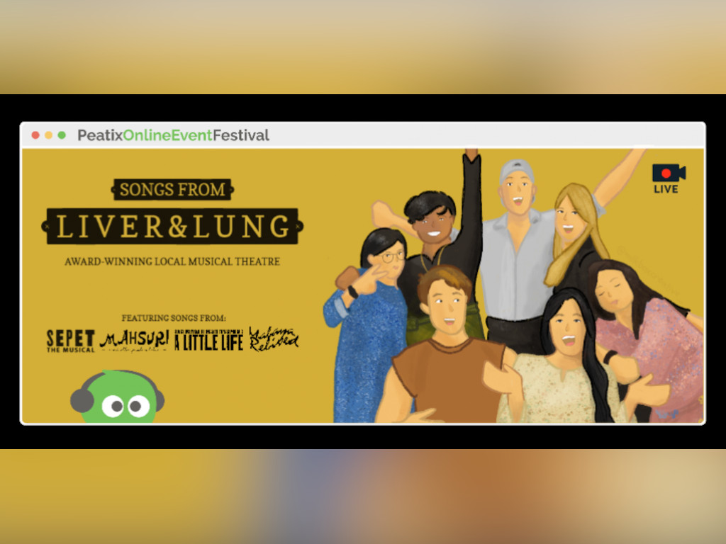 """Enjoy """"Songs from Liver & Lung"""" at this Saturday's Peatix Online Event Festival!"""