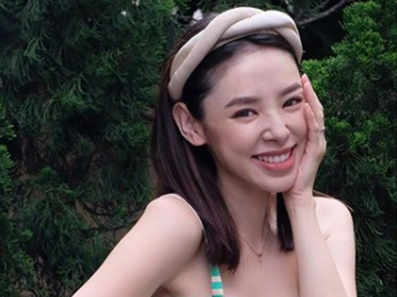 Zoie Tam gives birth to first child
