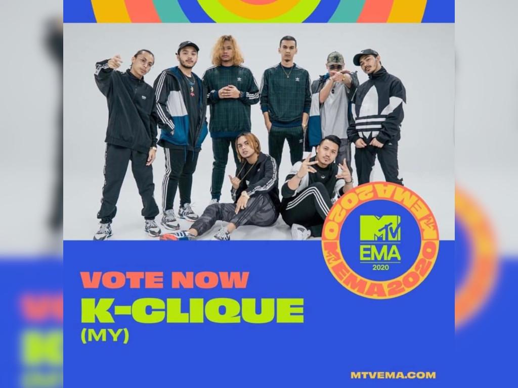 Sabah's K-Clique, Singapore's Benjamin Kheng among MTV EMAs nominees