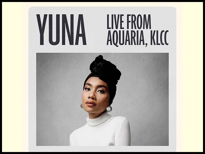 Yuna's upcoming showcase will be streamed live from Aquaria KLCC!