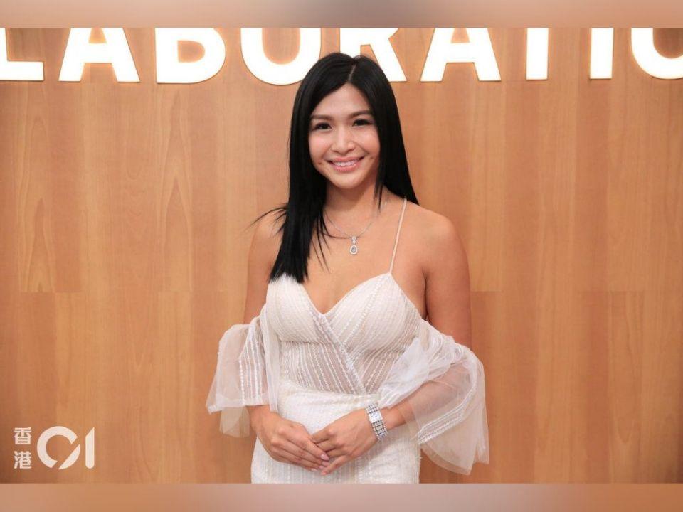 Vicky Chan performs at TVB Anniversary Gala