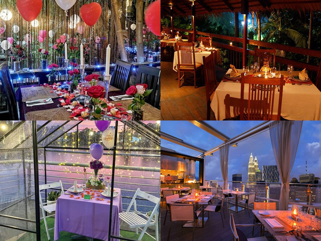 8 dinner spots in Klang Valley that are perfect for a romantic evening