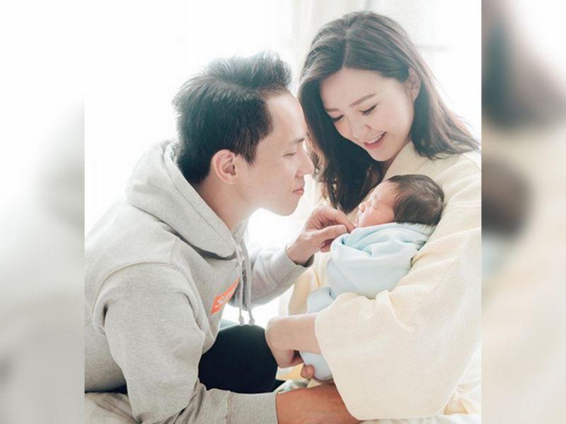 Jinny Ng gives birth to second child