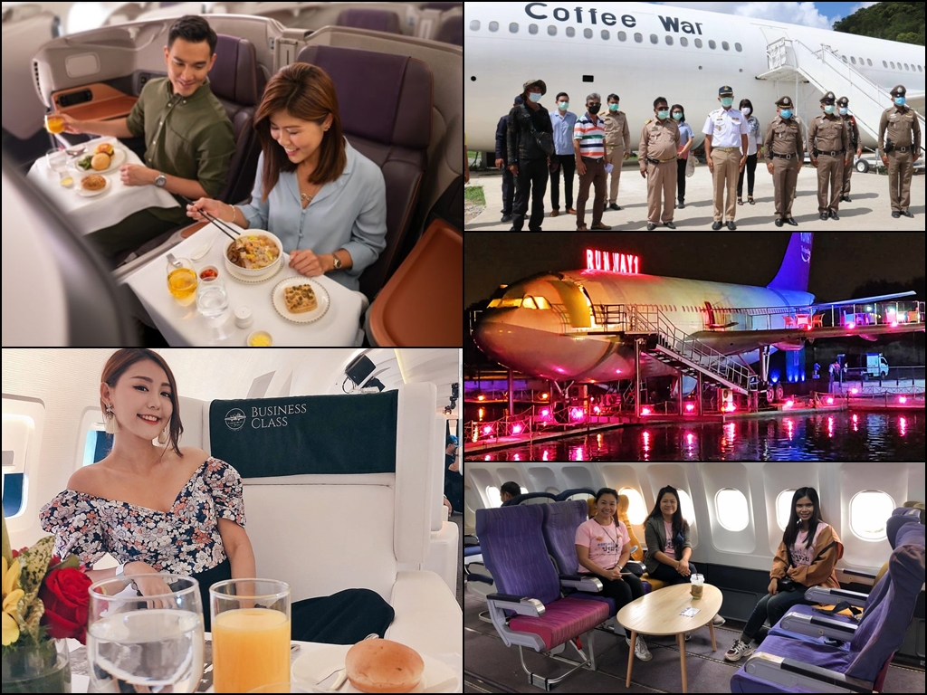 Grounded airplanes that take on new life as fancy eateries