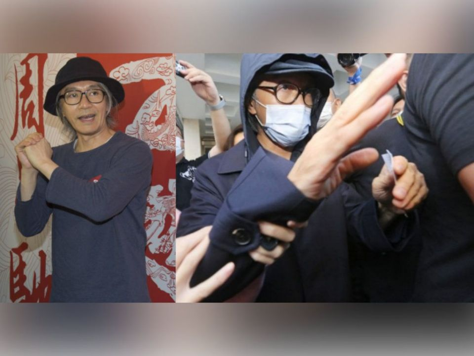 Stephen Chow makes rare appearance in court
