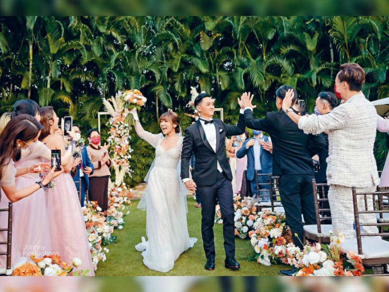 Fred Cheng, Stephanie Ho finally tied the knot