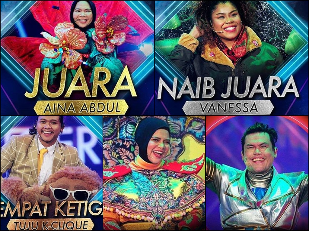 """Get to know the winners of """"The Masked Singer Malaysia"""""""