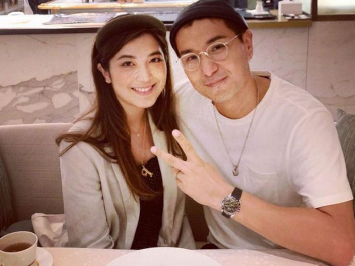 Ruco Chan laughs off rumours of baby number two
