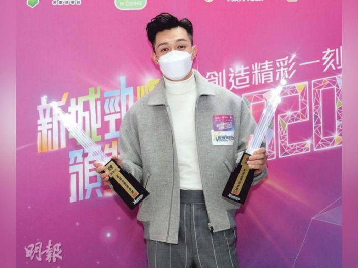 Pakho Chau wins two awards at Metro Radio Hit Awards