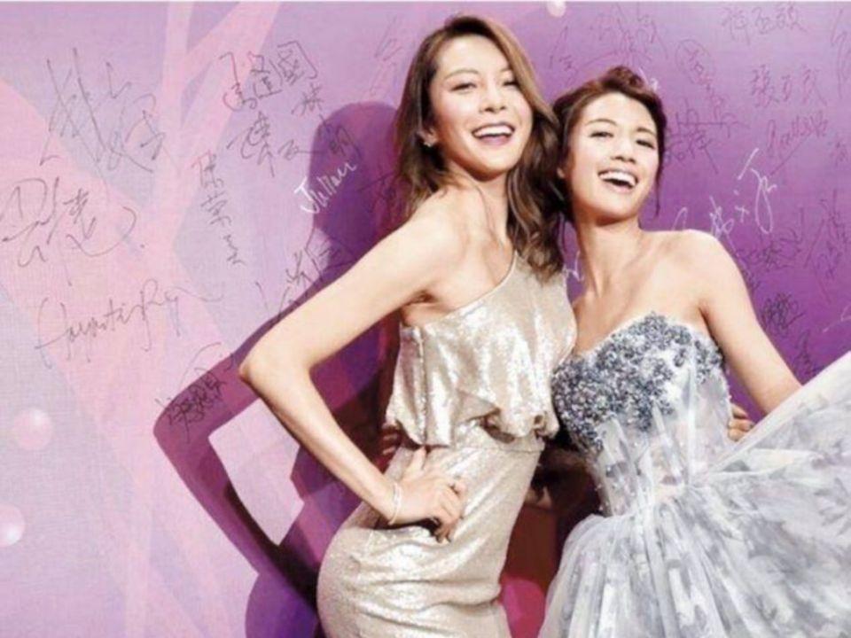 Sisley Choi and Kelly Cheung deny bad blood