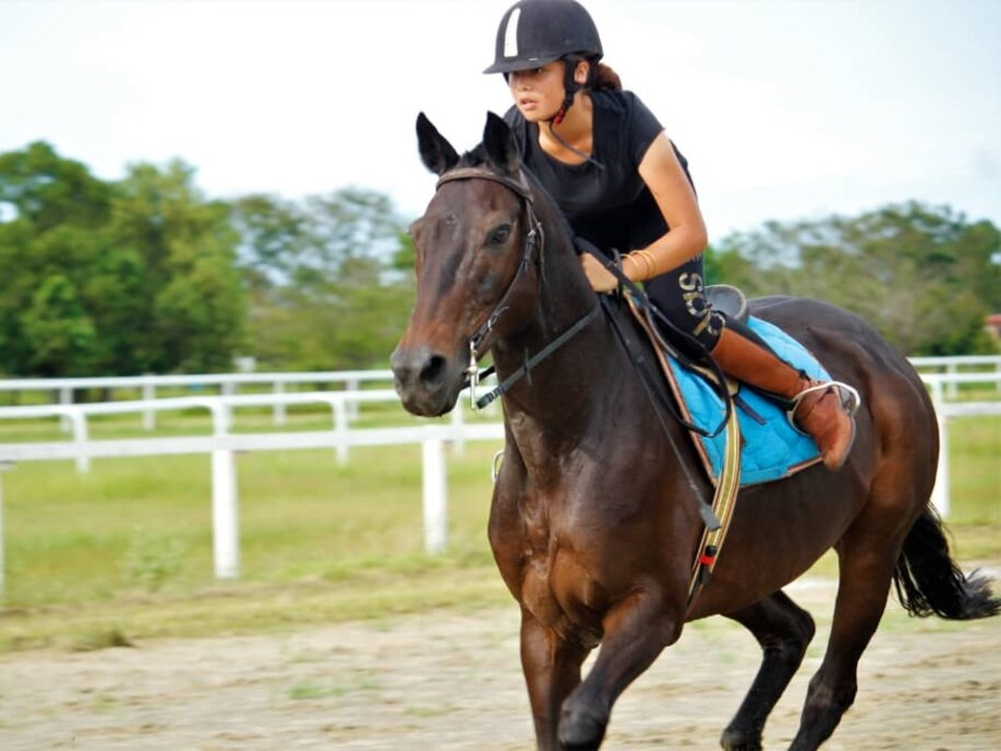 13-year-old Sabahan is the youngest racehorse trainer in the world!