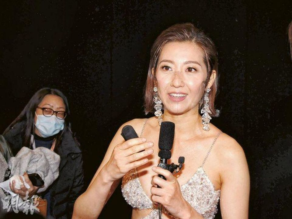 Yoyo Chen denies being uninterested by husband's speech