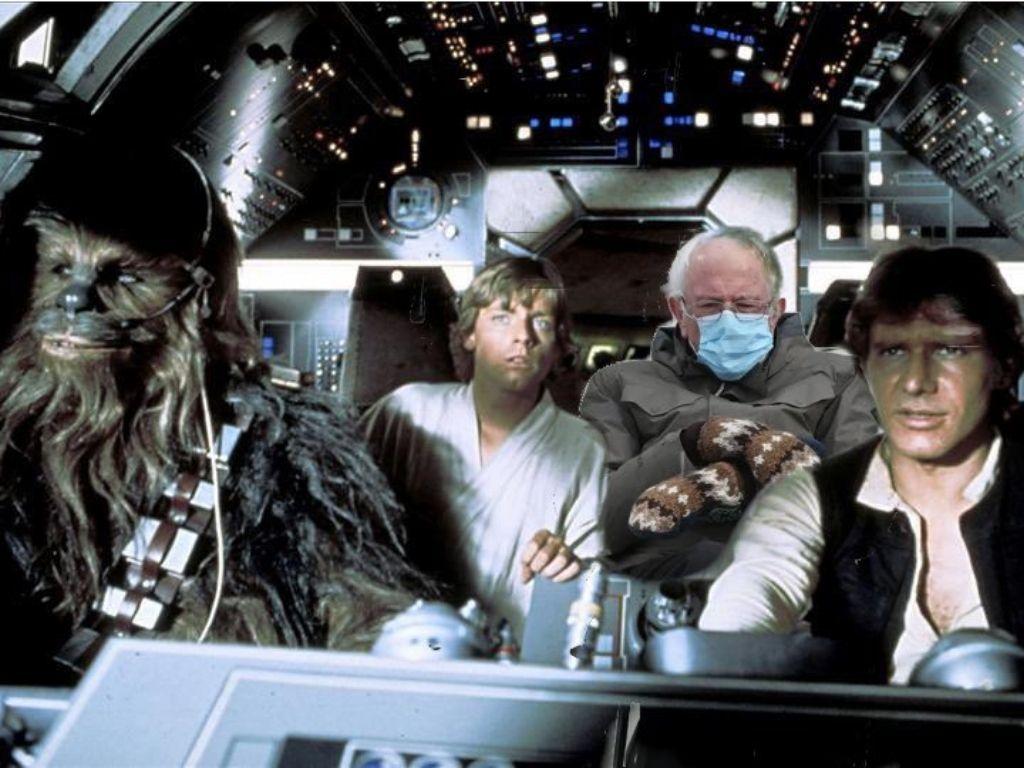 Mark Hamill couldn't stop sharing Bernie Sanders-Star Wars memes