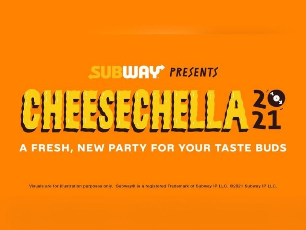Jam out with the Subway Cheesechella Music Fest!