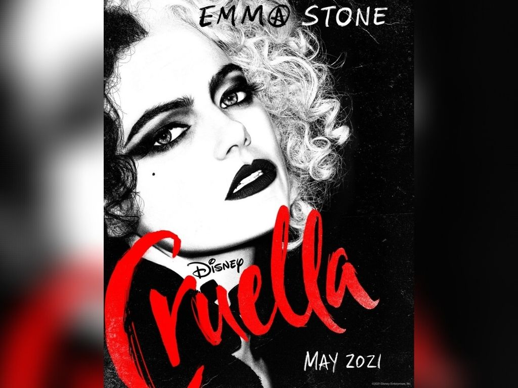 "Emma Stone turns menacing in ""Cruella"""