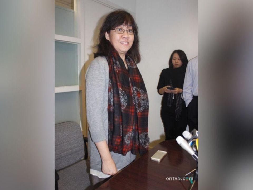 Sandy Yu denies power cut from Eric Tsang