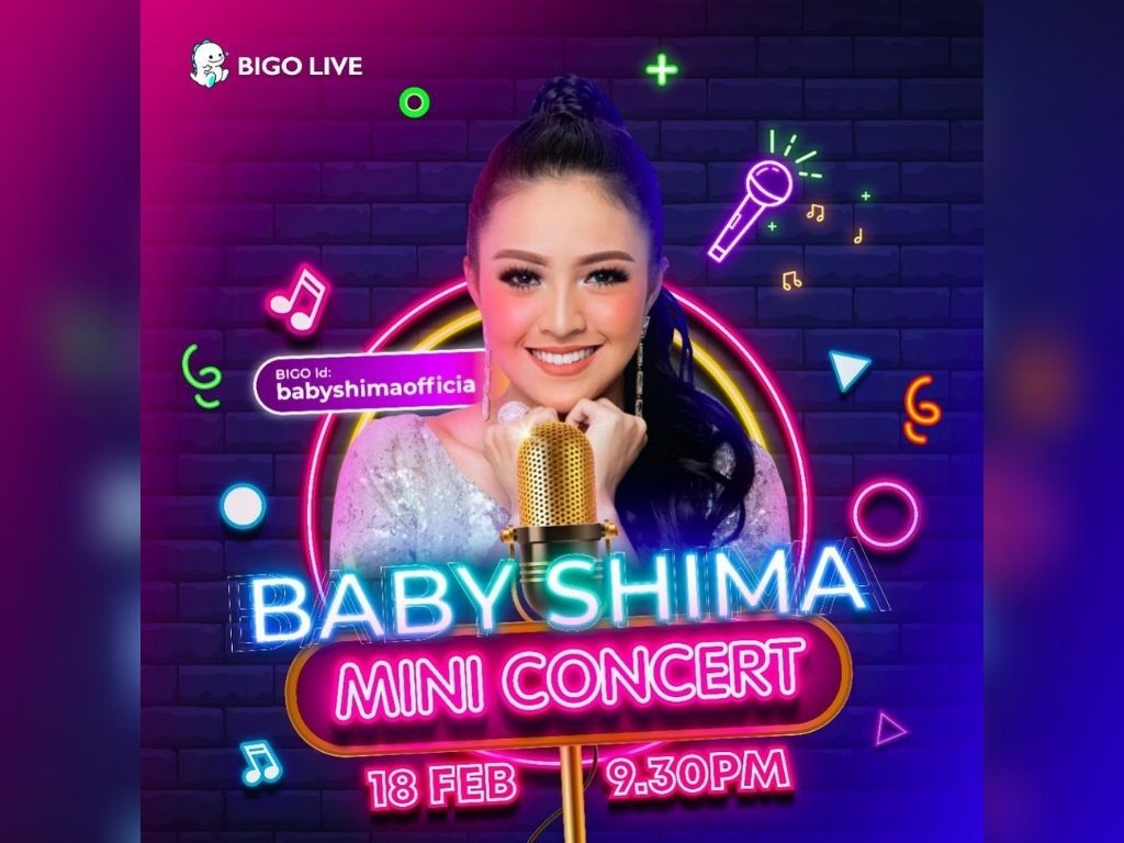 Watch Baby Shima perform live in mini concert via Bigo Live tonight [18 February]