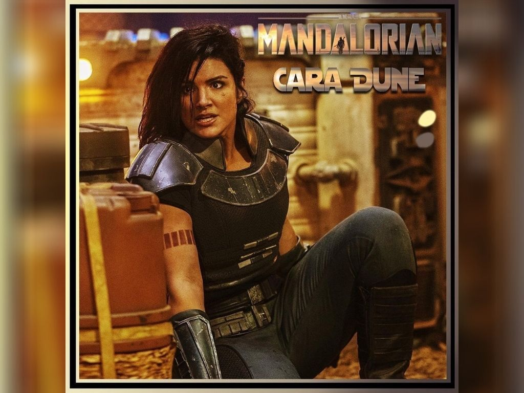 """Gina Carano fired from """"The Mandalorian"""" over Holocaust post"""