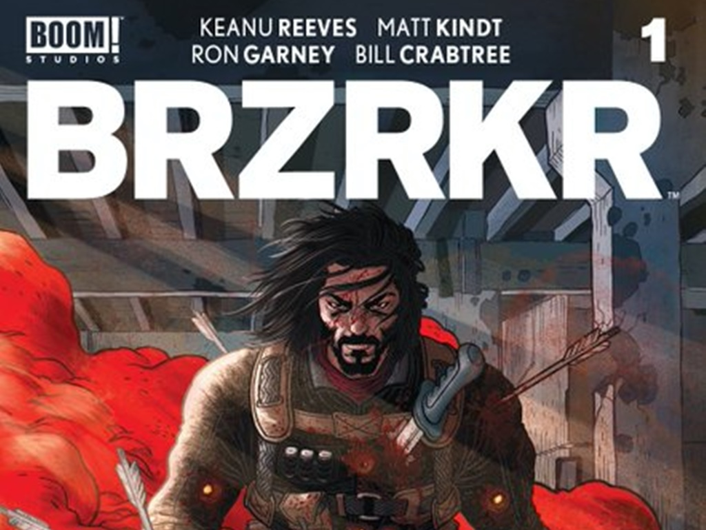 """Keanu Reeves' comic series """"BRZRKR"""" gets two adaptations from Netflix"""