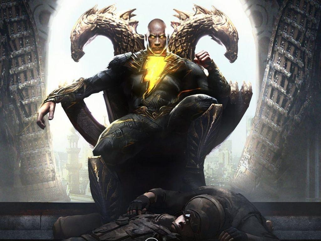 "Dwayne Johnson's ""Black Adam"" to release 29 July 2022"