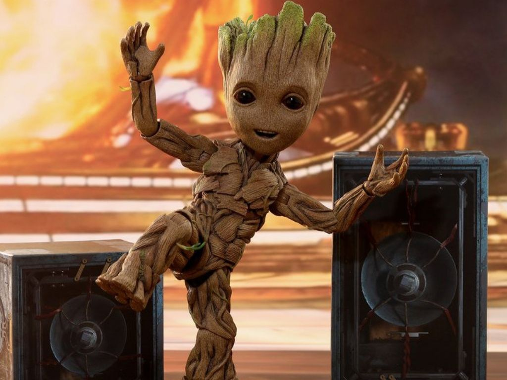James Gunn entertained by Groot translation video
