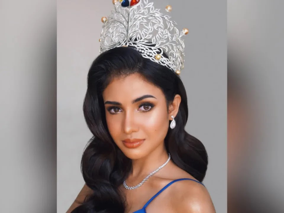 Rabiya Mateo arrives in the US for Miss Universe