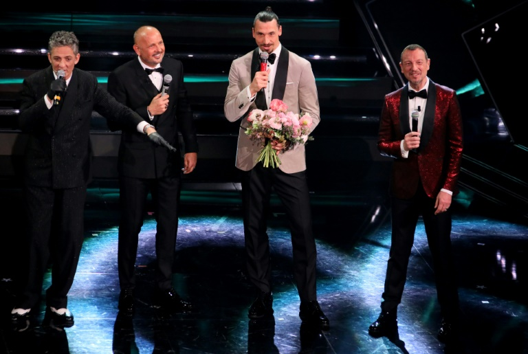 AFP4276753965133705687210020586277774441897 music topshots music italy sanremo festival 1 1
