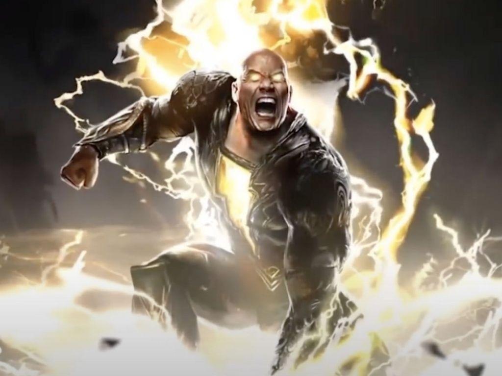 "Dwayne Johnson's ""Black Adam"" casts comedian Mo Amer"