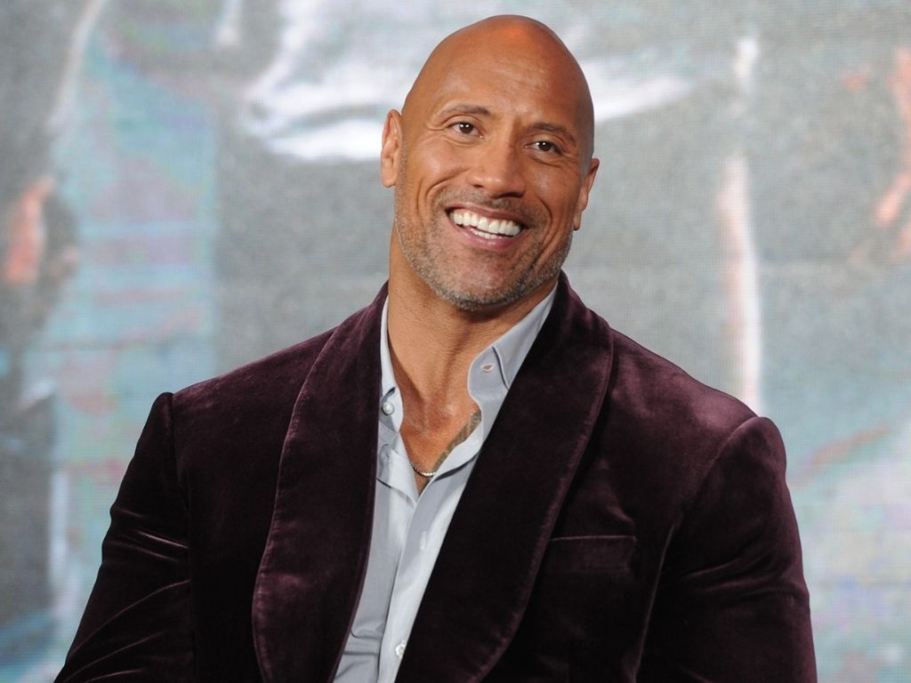 """Poll shows high favourability for President Dwayne """"The Rock"""" Johnson"""