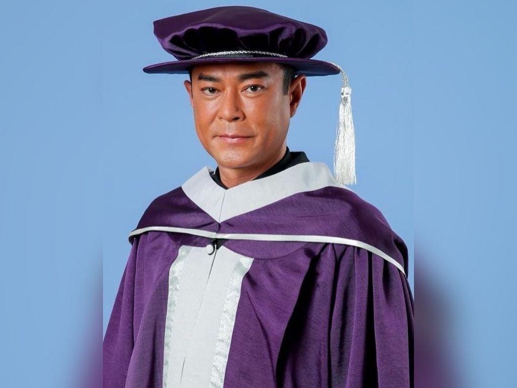 Jacky Cheung, Louis Koo, Wong Cho Lam receive academic honour