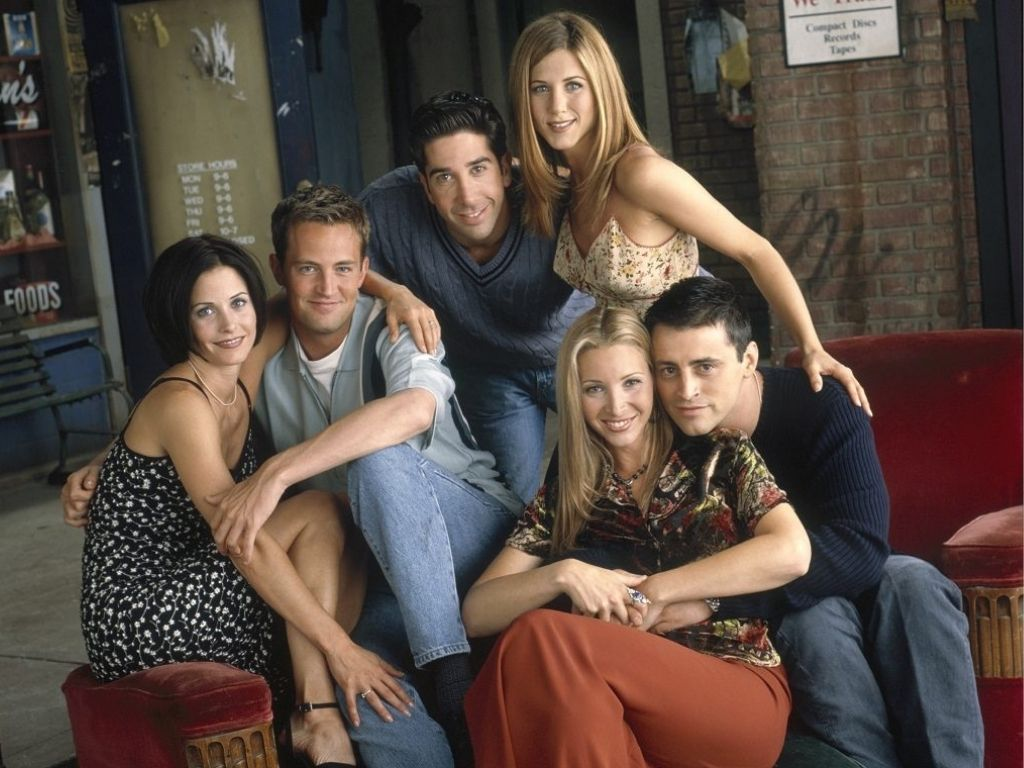 """""""Friends"""" finishes filming reunion project in Burbank"""