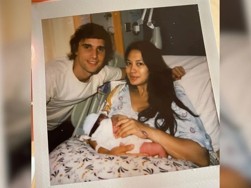 Isabelle Daza welcomes child number two